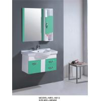Wholesale 80 * 49 cm single sink PVC Bathroom Cabinet Full Extension drawers from china suppliers