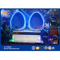 Wholesale 360 Degree Movie Theater , Virtual Reality Video Games Golden / White / Blue Color from china suppliers