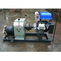 Quality High Speed 3 Ton Yamaha Gasoline Engine Powered Winch Winch Puller For Cable Pulling for sale