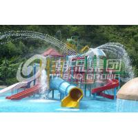 Wholesale Water Park Project /  Kids' Water Playground Durable Big Customized Water Slide from china suppliers