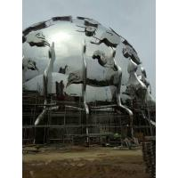 Quality Stainless steel sculpture with mirror finish for sale