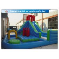 Kids Backyard Inflatable Water Slides Blow Up , Inflatable ...