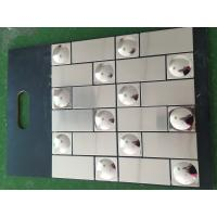Buy cheap 304 stainless steel mosaic tiles from wholesalers