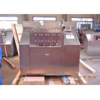 Wholesale Stainless steel Housing chocolate / Ice Cream Homogenizer 6000 L/H 110 KW from china suppliers