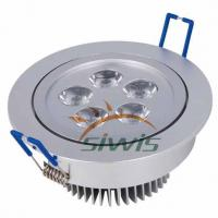 Wholesale Outdoor LED Ceiling Downlights 5 W 500 Lm , 90 degree 220 Volt from china suppliers
