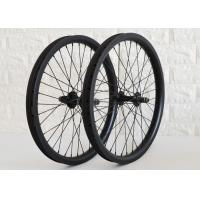 Wholesale 20 Inch Carbon BMX Wheels UD / 3K / 12K Appearance 36H Spoke Holes EN Approved from china suppliers