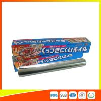 Wholesale OEM Kitchen Aluminium Foil Roll Food Grade For Cooking / Freezing from china suppliers