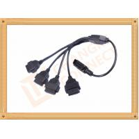 Wholesale Durability PVC 16 Pin OBD Extension Cable Black CK-MF16Y04L from china suppliers
