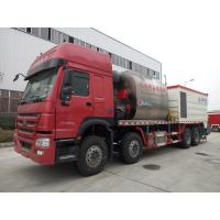 Wholesale HOWO Road Construction Bitumen Tank And Gravel Synchronous Slurry Seal Chip Sealer Truck from china suppliers