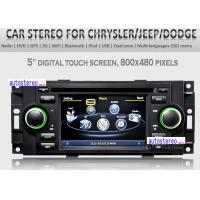 Wholesale PT Cruiser Multimedia Sat Nav 3G Wifi 5'' Car Stereo DVD Player Autoradio from china suppliers