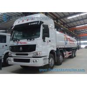 Buy cheap Howo 8x4 Sinotruk Fuel Tank Truck , 310HP Carbon Steel Tanker Truck from wholesalers