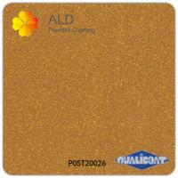Wholesale metallic gold thermosetting spray electrostatic powder coating paint from china suppliers