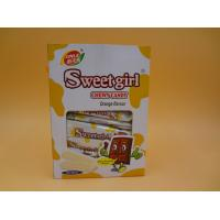 Wholesale OEM Healthy Milk Chewing Fruity Chewy Candy Red / White / Pink Color from china suppliers