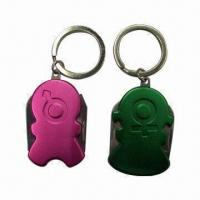 Wholesale Multifunctional Keychains, Available in Different Material and Colors, Made of Zinc-alloy Material from china suppliers