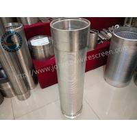 Wholesale 40 Slot Stainless Steel Water Well Screen Solid Structure OEM / ODM Available from china suppliers