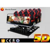 Wholesale CE Certificate 5D Movie Theater With Special Effects for theme park , shopping mall from china suppliers