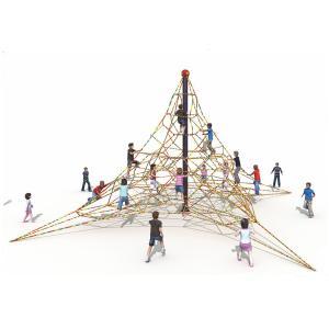 Buy cheap KAIQI 2018 Children Outdoor Playground Climbing Nets Outdoor Children Amusement Park Playground Equipment from wholesalers