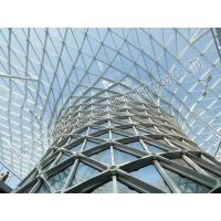 Buy cheap Metal Building Curved Steel Roof Trusses High Anti Rust Performance from wholesalers