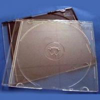 Quality 5.2mm Single CD Case with Black and Clear Color, Designed for Gima or Ilsemann Packing Machines for sale