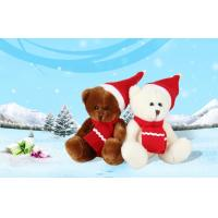 Wholesale Customized soft cute teddy Christmas Stuffed Bear festival toys 10CM from china suppliers