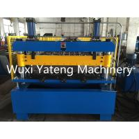 Wholesale High Efficiency Floor Deck Roll Forming Machine Panasonic PLC Control 10T Weight from china suppliers