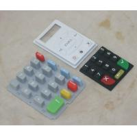 Wholesale Durable Silicone Rubber Mobile Phone Keypad , Single Membrane Switch Keypad from china suppliers