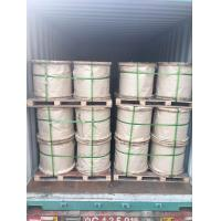 "Wholesale 1/2""(12.7mm ,7x4.19mm)Zinc-coated steel wire strand as per ASTM A 475 Class A EHS from china suppliers"