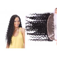 Wholesale Long Lasting Deep Wave Lace Top Closure Hair Ear To Ear No Mixture from china suppliers
