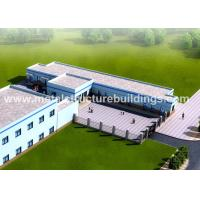 Wholesale ASTM Material Metal Structure Buildings , Steel Frame Buildings With Considerate Design from china suppliers