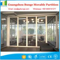 Wholesale Modern Office Movable Partition Walls 12 MM Acoustic Glass Room Partition from china suppliers
