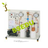China Educational Equipment Trainer Simple Compression Refrigeration Circuit on sale