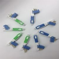 Wholesale SC Fast Fiber Optical Connector , UPC Polishing Quick fiber optic adapters from china suppliers