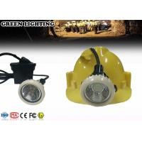 Quality IP68 Rechargeable Led Headlight , 4000 Lux Corded Hard Hat Light Rechargeable for sale