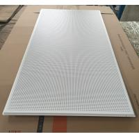 Wholesale 595x1195mm Galvanized Steel Acoustic Ceiling Tiles For Shopping Malls from china suppliers