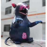 3m Oxford Mouse Printing Decorative Inflatable Mouse For Event Decoration
