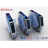 Wholesale 2 Lanes Flap Barrier Turnstile With Ticket Manament System With Light In Cinema from china suppliers