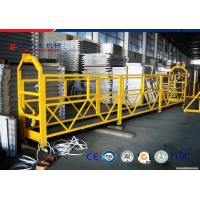 Wholesale 7.5M Length Suspended Work Platform ZLP630 , High Rise Window Cleaning Equipment from china suppliers