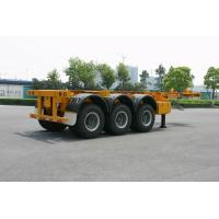 Wholesale ISO Skeletal or Flatbed type Tank Container Trailer Chassis 40ft / Semi-Trailer from china suppliers