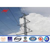 Wholesale Galvanization Single Circuit Steel Power Pole Utility Transmission Line Poles from china suppliers
