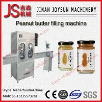 Buy cheap 30L / min Automatic Peanut Butter Filling Machine 70 - 80 bottle / min from wholesalers
