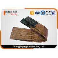Quality High Tensile Polyester Flat Web Sling Rigging Lifting Strap with 6T Capacity for sale
