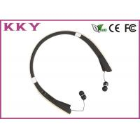 Wholesale Foldable Retractable Bluetooth Headset With CVC Noise Reduction / Vibratory Function from china suppliers