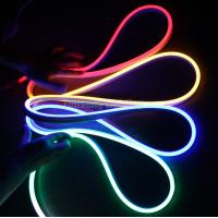 Buy cheap 11x19mm side view waterproof outdoor led neon flex rope 2835 smd pvc led rope light for making sign from wholesalers
