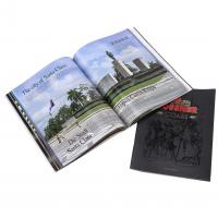 China Full Color Book 12 Pages Brochures Printing Custom Design Products Catalogues Logo Embossing Printed on sale