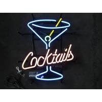 Wholesale Custom Made Commercial Advertising Neon Bar Signs For Home / Bar from china suppliers