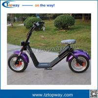 Wholesale Powerful High Speed Lithium Battery Harley Citycoco 2000W EEC electric scooter from china suppliers