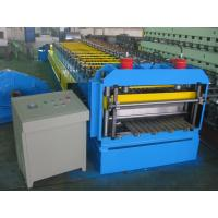 Wholesale Automatic Metal Glazed Roof Tile Roll Forming Machine Siemens PLC Control for Mexico Market from china suppliers