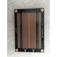 Quality Overload Protection Prototyping PCB Board 94 * 64mm Black Fr-4 PCB Breadboard for sale