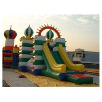Wholesale High Durability Inflatable Obstacle Course With Slide / Tunnel / Bouncer from china suppliers