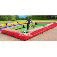 Wholesale Snooker Football Inflatable Sport Game For School Activities from china suppliers